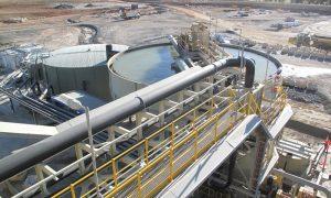 lithium mine wa stock image