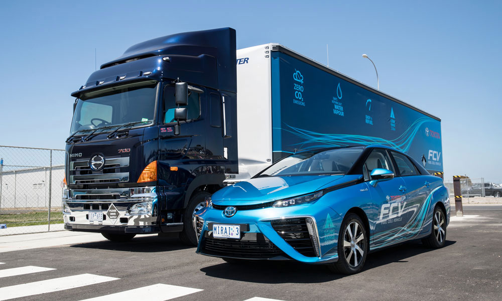 Hino Australia powers Toyota Mirai with mobile hydrogen fuel