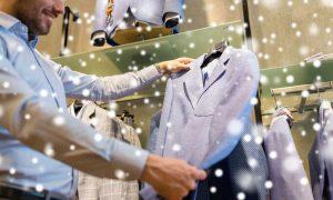 man-christmas-shopping