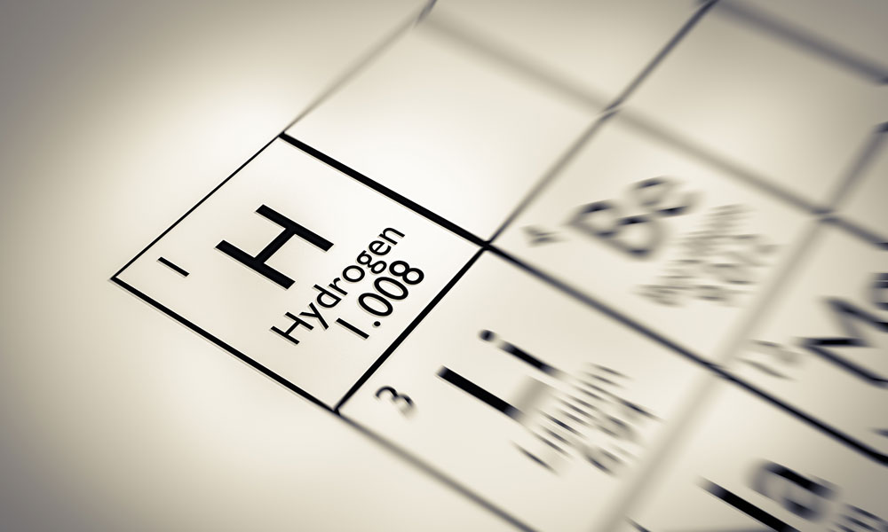 hydrogen stock image