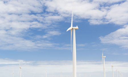 wind turbine stock image
