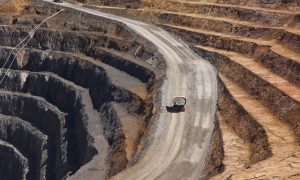 gold mine wa stock image