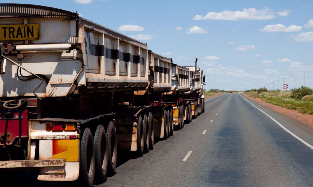transport truck freight stock image
