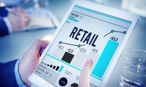 retail sales concept stock image