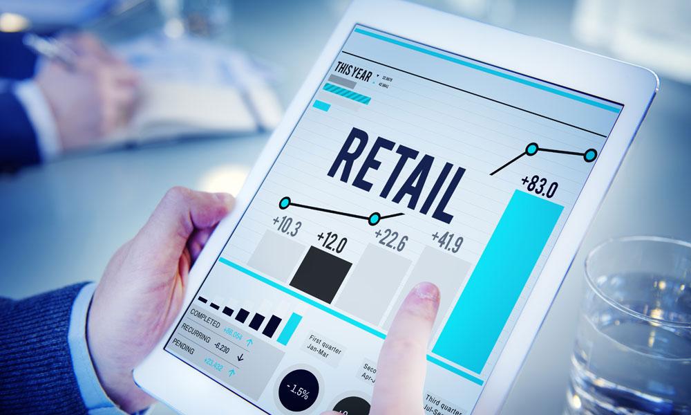 retail sales concept stock image