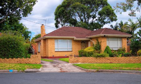 melbourne house stock image