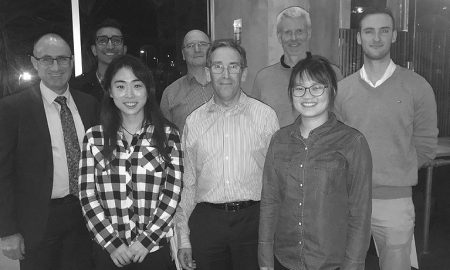 Ungdergraduate Student Industry Program dinner. Image courtesy of iMOVE CRC
