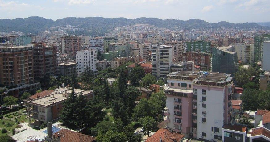 Tirana, capital of Albania. Source: Dr Dorina Pojani