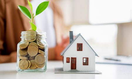 housing economy property stock image