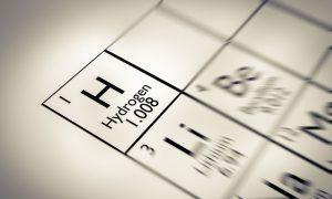 hydrogen stock image