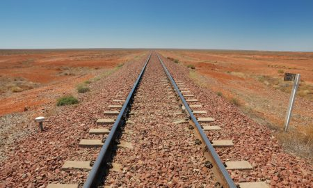 rail line stock image