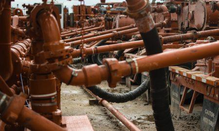 fracking stock image