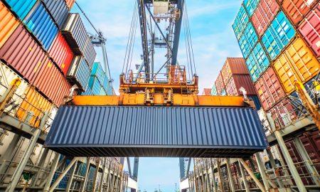logistics trade stock image