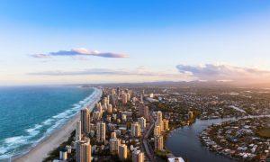 gold coast stock image