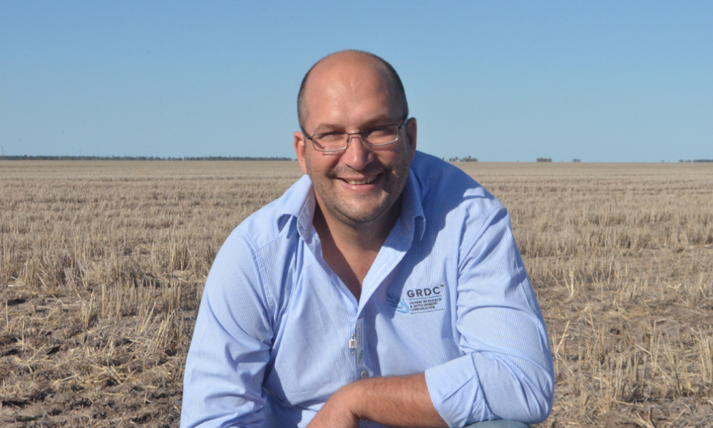 GRDC Grower Relations Manager North Richard Holzknecht said Update topics were regionally relevant, practical and ready for on farm adoption with the potential to make a tangible difference to growers' bottom lines. Photo GRDC.