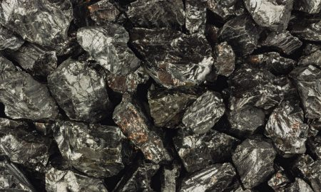 coal ore stock image