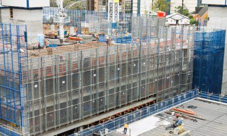 construction queensland stock image