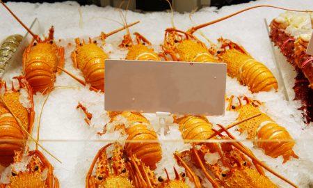 lobster western australia stock image