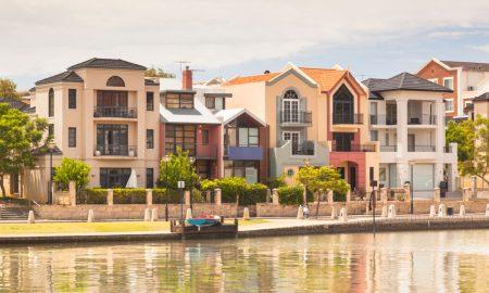 housing wa stock image