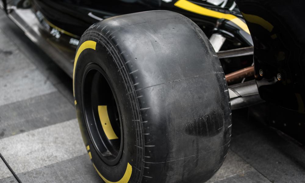 tyre carbon fibre stock image