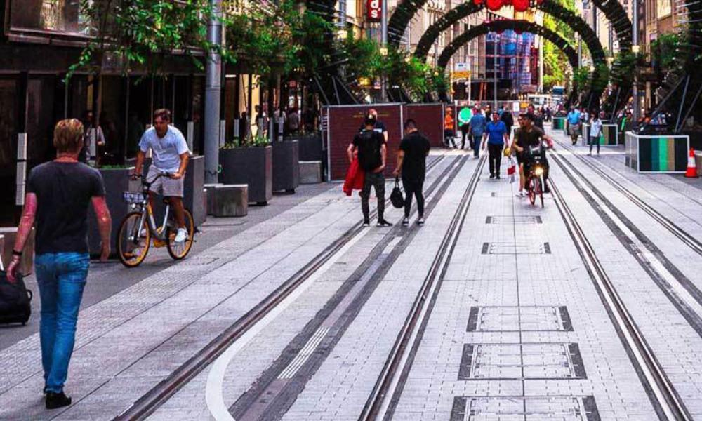 George Street, Sydney - Photo by Jasper Wilde on Unsplash