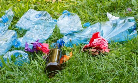 rubbish litter stock image