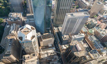 sydney cbd stock image