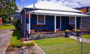 house wollongong stock image