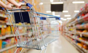 retail shopping supermarket stock image