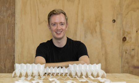 A finalist of the previous Lexus Design Award 2019 was Australian architect Ben Berwick, who designed a window blind clad with solar panels called Solgami.