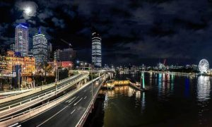 Brisbane-night-timelapse
