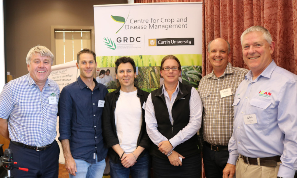 National Fungicide Resistance Workshop attendees