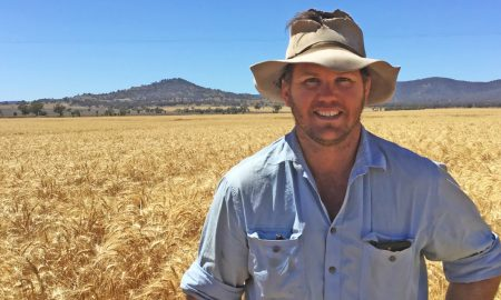 Andrew Campbell in his crop of Lancer.
