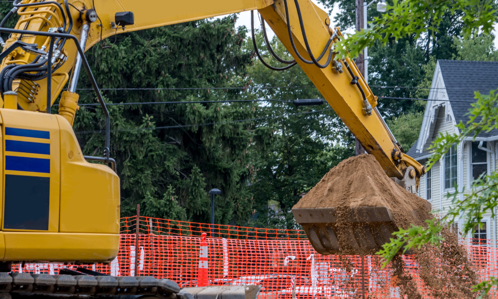Construction industry slump