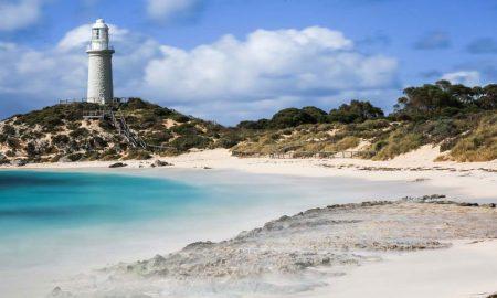 rottnest island stock image