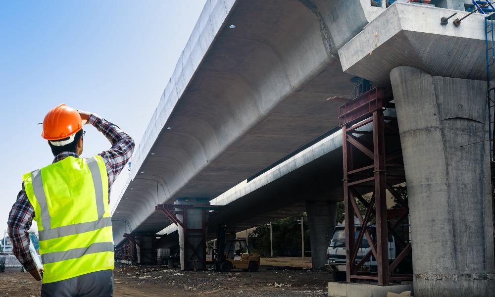 infrastructure road
