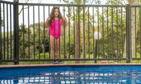 Fencing protects children from drowning the fence