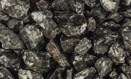 coal ore stock image