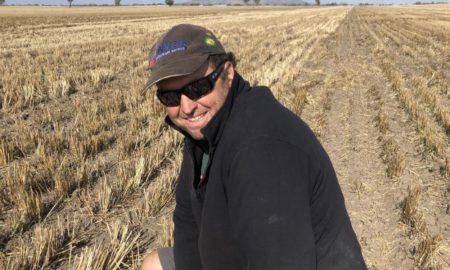 Natimuk farmer Brian Klowss.