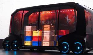 Autonomous mobile lockers